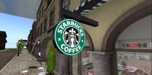 Starbucks in Secon Life
