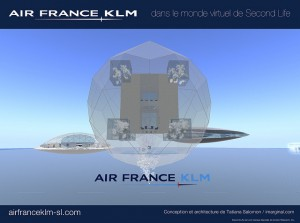 KLM in Second Life
