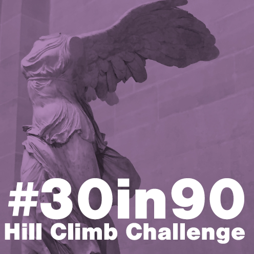 Take the #30in90 Hill Climb Challenge!
